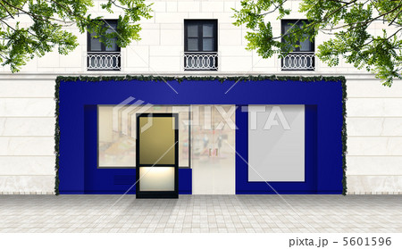 ヨーロッパ風 店舗CGイラスト 5601596