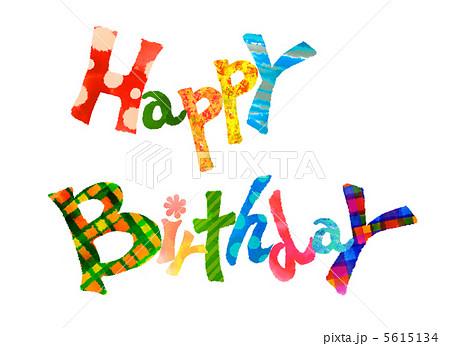 Happy Birthdayのイラスト素材 5615134 Pixta