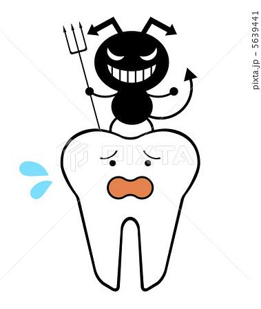 虫歯菌のイラスト素材 5639441 Pixta