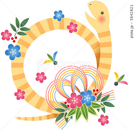 ヘビのしめ縄 5642821