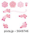 ベクター バラ 薔薇のイラスト 5649746