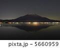 山中湖からの富士山14 5660959