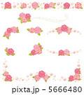 ベクター 薔薇 ばらのイラスト 5666480