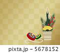 門松と独楽 5678152