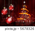 オーナメント クリスマスボール 装飾のイラスト 5678326