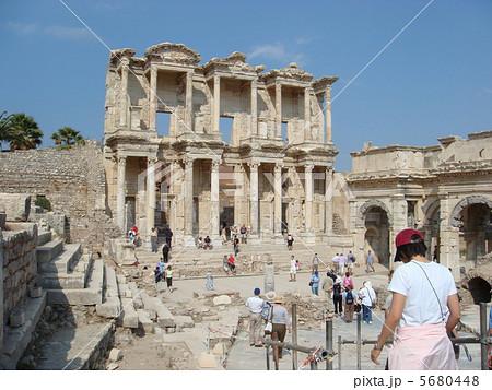 エフェソス(エフェス)遺跡 セルシウス図書館 トルコ 5680448