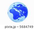 世界地図 地球儀 地図のイラスト 5684749