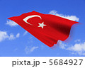 国旗 トルコ共和国 トルコのイラスト 5684927