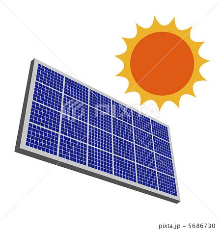 ソーラーパネル 複数パターンのイラスト素材 25746490 Pixta
