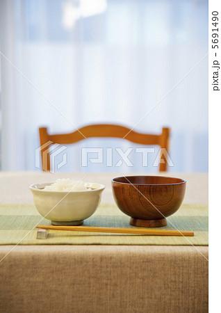 ご飯とみそ汁の写真素材 [5691490] - PIXTA