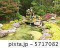 池 庭石 日本庭園の写真 5717082