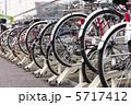 駐輪場 サイクル 自転車の写真 5717412