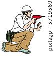 大工さん 建築技術者 大工のイラスト 5719569