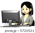 会社員 仕事 ビジネスのイラスト 5720521