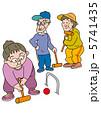 ゲートボールを楽しむ老人 5741435