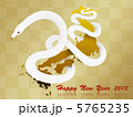 白蛇 白ヘビ 巳のイラスト 5765235