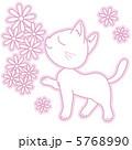 動物 猫 ペットのイラスト 5768990