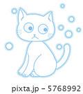 動物 猫 陸の哺乳類のイラスト 5768992
