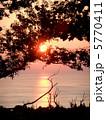伊豆高原の朝日 5770411