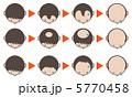 脱毛症 脱毛 ハゲのイラスト 5770458
