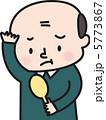 薄毛 男性 ハゲのイラスト 5773867