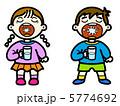 こども うがい 子供のイラスト 5774692