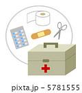 薬箱 薬入れ 救急箱のイラスト 5781555