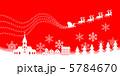 クリスマスイブ 赤 5784670