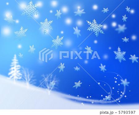 クリスマス風景のイラスト素材 5793597 Pixta