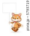 イヌ 柴犬 犬のイラスト 5793719