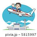 海外旅行 出張 海外出張のイラスト 5815997