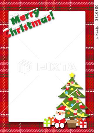 クリスマスカードのイラスト素材 5816386 Pixta