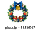 オーナメント リース 飾りのイラスト 5859547