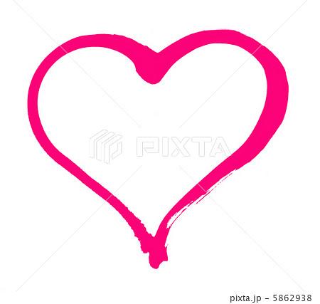 ハートのイラスト素材 5862938 Pixta