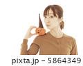 女性 女の子 ハロウィンの写真 5864349