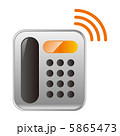 回線 無線 電話のイラスト 5865473