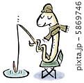 魚釣りへび 5869746