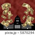 財政 紙幣 一万円札のイラスト 5870294