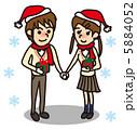 クリスマス 学生 カップル 5884052