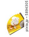 白ヘビ 白蛇 巳の写真 5894305