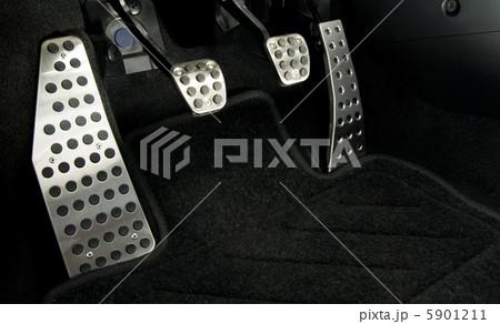 Sport car chrome pedals 5901211