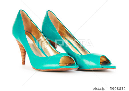 Female shoes in fashion conceptの写真素材 [5908852] - PIXTA