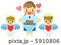 男の子と天使 5910806