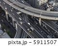 幹線道路 阪神高速 自動車道の写真 5911507