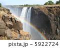 ビクトリアの滝 ヴィクトリアの滝 ビクトリアフォールズの写真 5922724