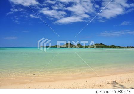 沖縄 石垣島 底地ビーチの風景写真 5930573