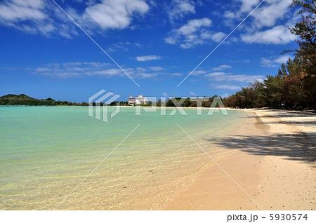 沖縄 石垣島 底地ビーチの風景写真 5930574
