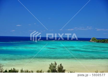 沖縄 石垣島 底地ビーチの風景写真 5930577
