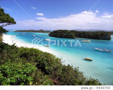 沖縄 石垣島 川平湾 風景写真 5930750