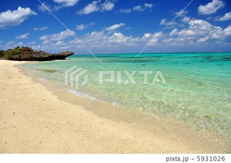 沖縄 石垣島のビーチ 風景写真 5931026